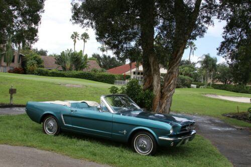 1965 Ford Mustang Convertible PS PB PTop AC
