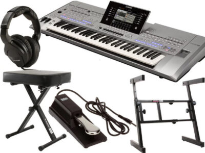 Yamaha tyros5 61 key essential bundle