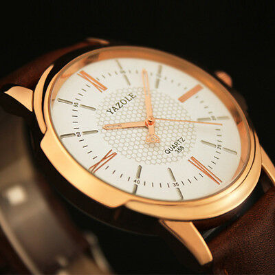Men Luxury Stainless Steel Business Quartz Watch L