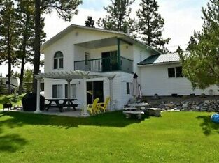 3BEDROOM Wasa Lake Water Front with Rocky mountain