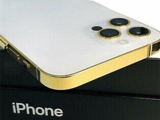 CUSTOM 24K Gold Plated Apple iPhone 12 Pro – 512 G