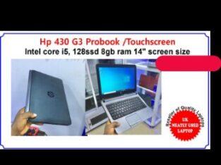 HP 430 G3 ProBook/Touchscreen laptop