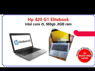 HP 820 G1 Elitebook Laptop