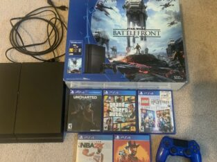 ps4 console used bundle With Games🔥🔥