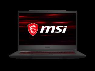 NEW MSI GF65 Gaming 15.6″ FHD 120Hz i7-10750H NVID